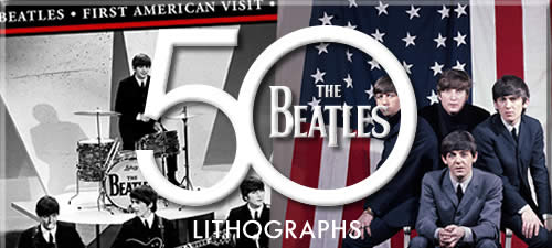 Beatles Limited Edition Lithographs